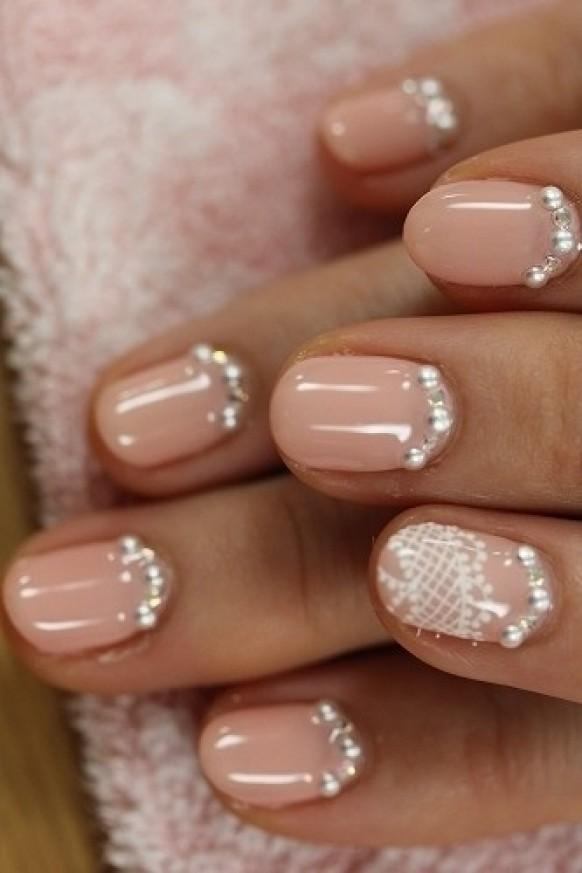 Creative and unique wedding nail design one nail different creative and unique wedding nail design one nail different color trend 1122244 weddbook prinsesfo Images