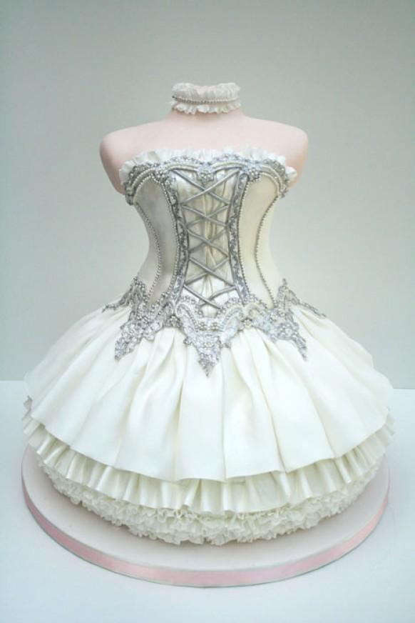 Special ballet dress cake design unique tea party for Unique tea party ideas