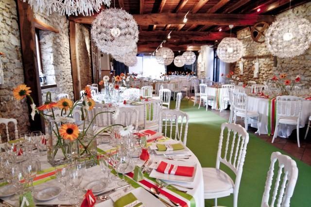 Orange Hochzeits Summer And Spring Wedding Decorations