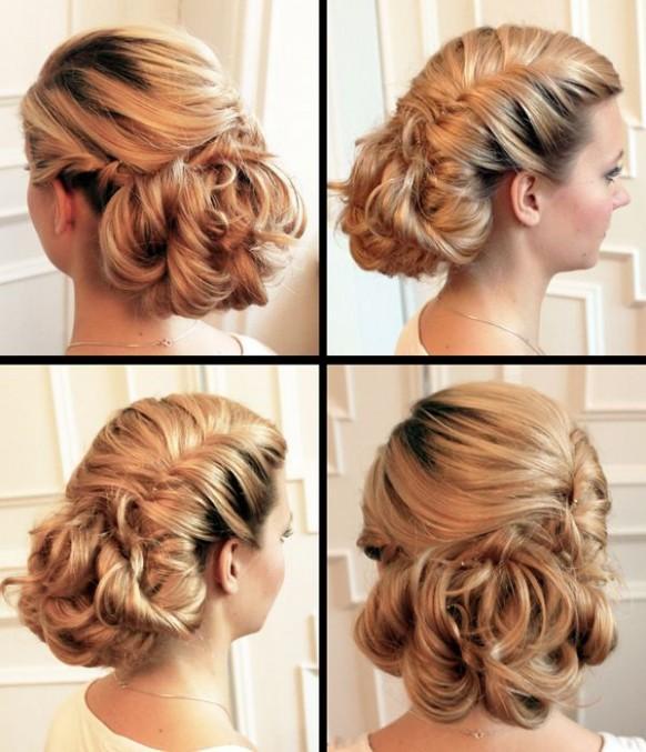 Wedding Hairstyle At Home: Weddings { Bridal Looks } #1925584