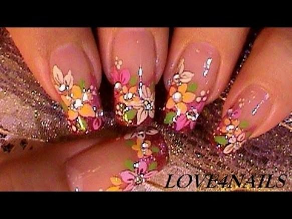 Bouquet of fall flowers nail art design tutorial 1974629 weddbook an error occurred prinsesfo Gallery