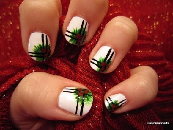 Traditional Wedding Traditional Holly Nail Art Tutorial 1989026