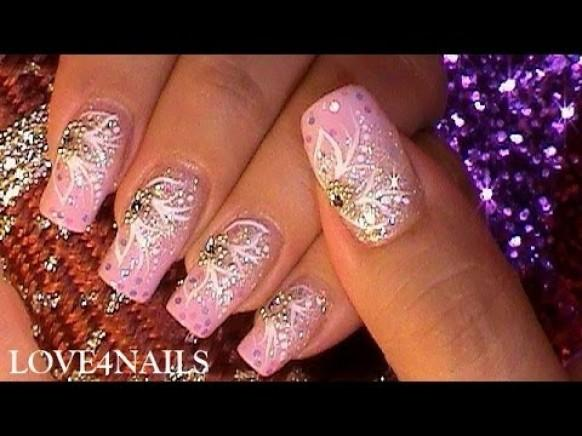 How To Pink Princess Party Nail Art Design Tutorial - How To Pink Princess Party Nail Art Design Tutorial #1989131 - Weddbook