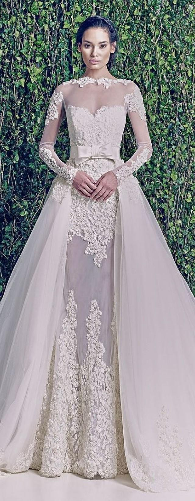 Dress - Wedding Dress With Fine Lace Work #2026590 - Weddbook