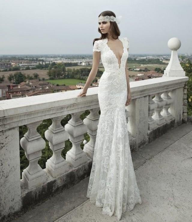 2014 Neu Weiß / Ivory Mantel Brautkleid Brautkleid ...