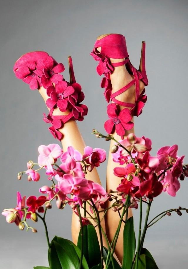 Spring Wedding Orchid Shoe By Jan Jansen S S Collection