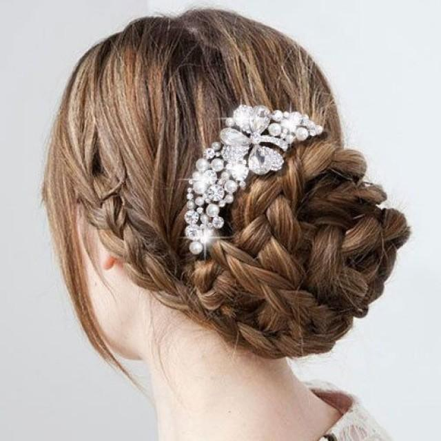 Beautiful Wedding Bridal Braided Hairstyle 2063383 Weddbook