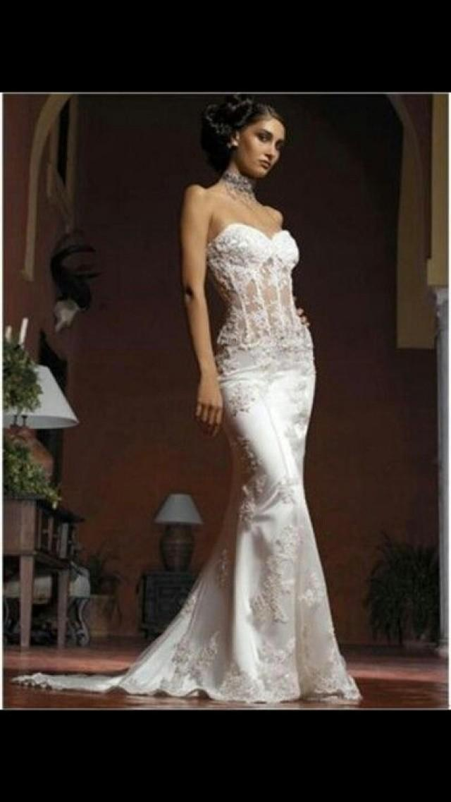 Lingerie wedding dresses 2307567 weddbook for Undergarments for wedding dresses