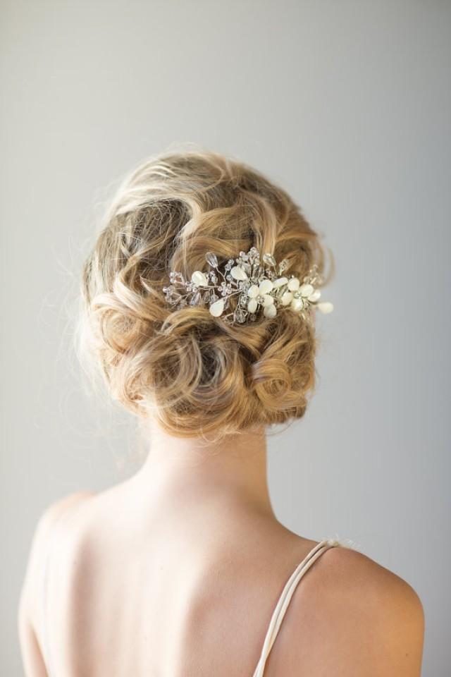 Bridal Hair Comb, Beach Wedding Hair Accessory,