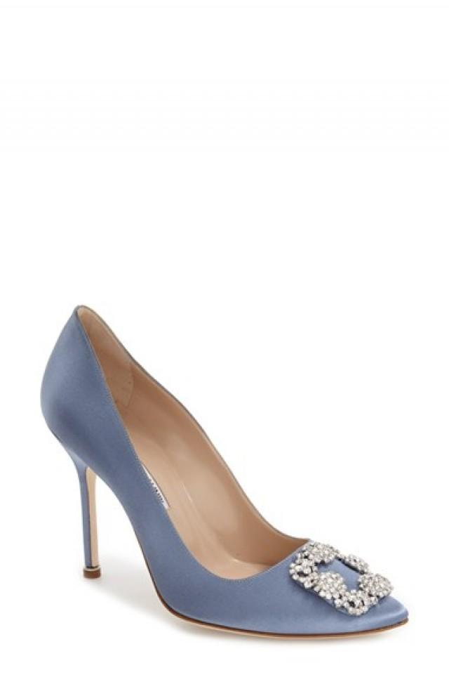 e1df0bb36f2 Manolo Blahnik  Hangisi  Jewel Pump (Women)  2622024 - Weddbook