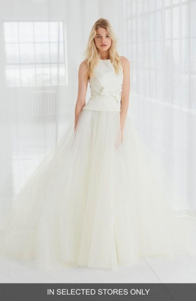 ca1968b72f6bc Kleiden - Amsale Miller Faille & Tulle Ball Gown #2794006 - Weddbook