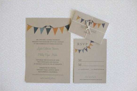 Environmentally Friendly Wedding Invitations: Eco Friendly Wedding Invitation #793165