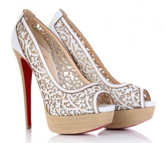 christian louboutin wedding collection shoes
