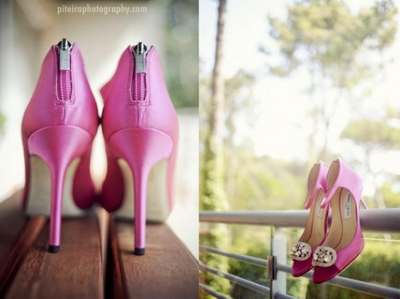 Pink High Heels For Wedding: Chic And Fashionable Wedding High Heel Pumps #796722
