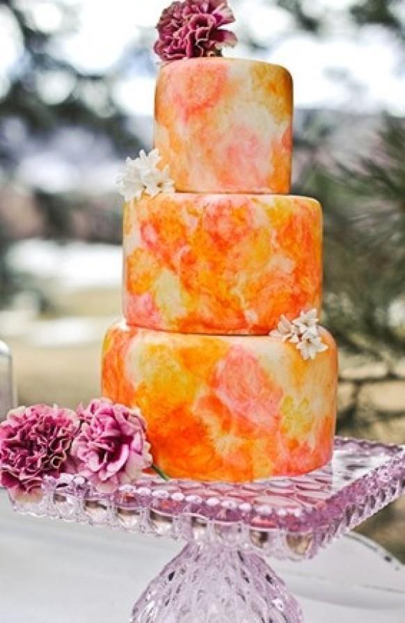 Wedding Cakes With Flowers 796759 Weddbook