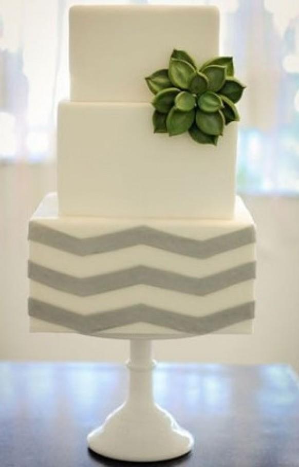 Wedding cake modern  Modern Wedding - Modern Wedding Cakes #796853 - Weddbook