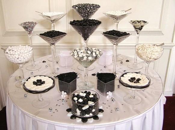 wedding favor ideas chic candy table wedding favor ideas 796912 weddbook