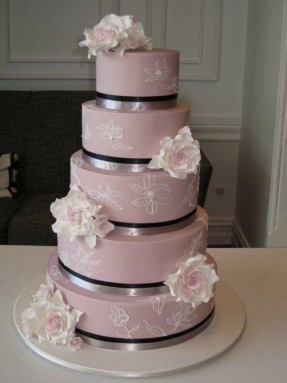 Chic Fondant Wedding Cakes Hochzeitstorte Design 797272 Weddbook
