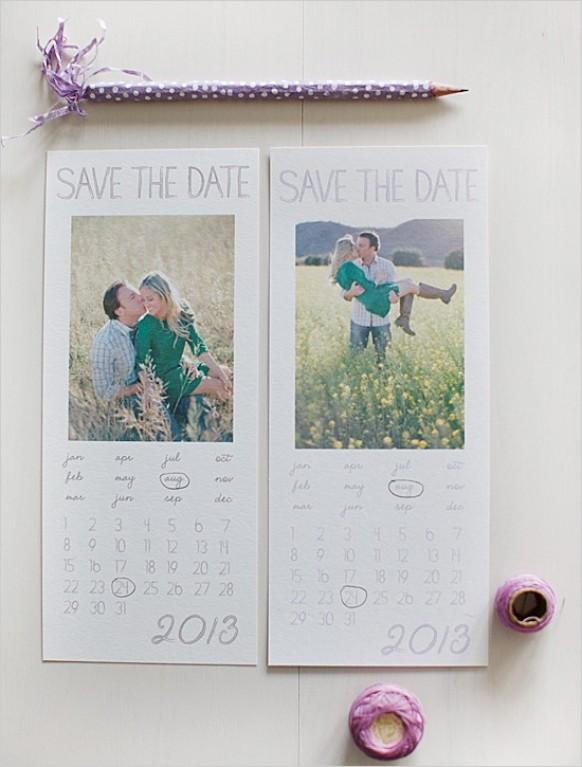 Creative Wedding Save The Dates #797527 - Weddbook