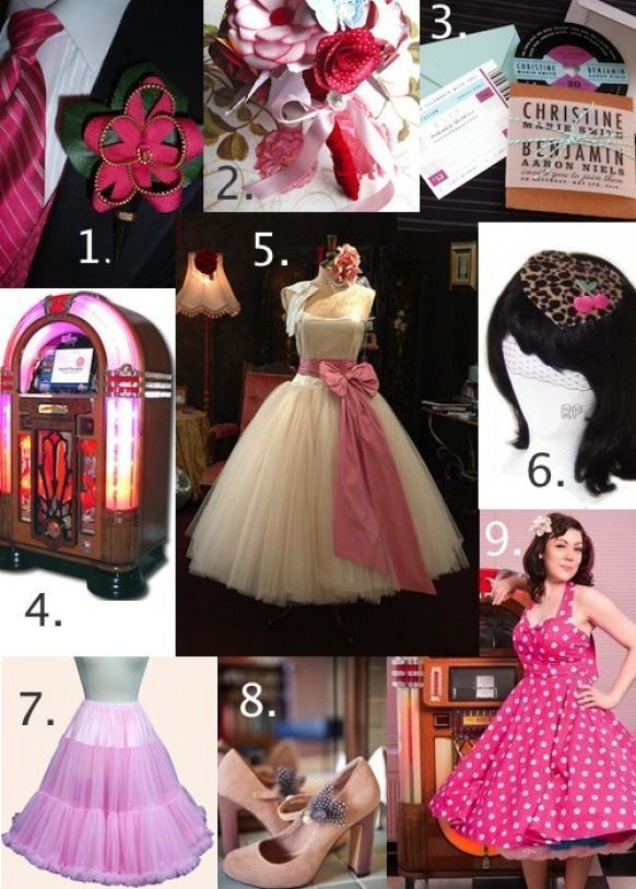 50s Wedding 50s Style Wedding 799557 Weddbook