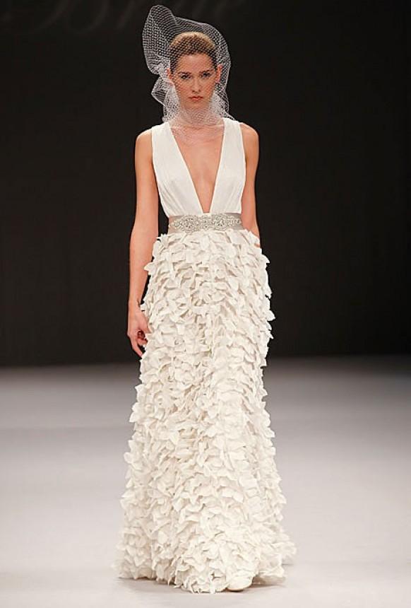 Silk Dresses - Chic Special Design Wedding Dress #800673 - Weddbook