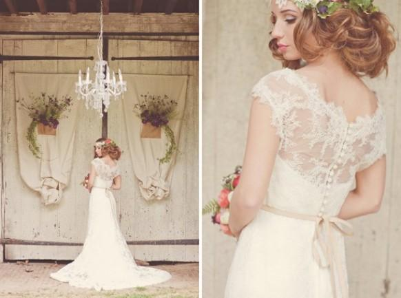 Chic Special Design Wedding Dress Lace 803017