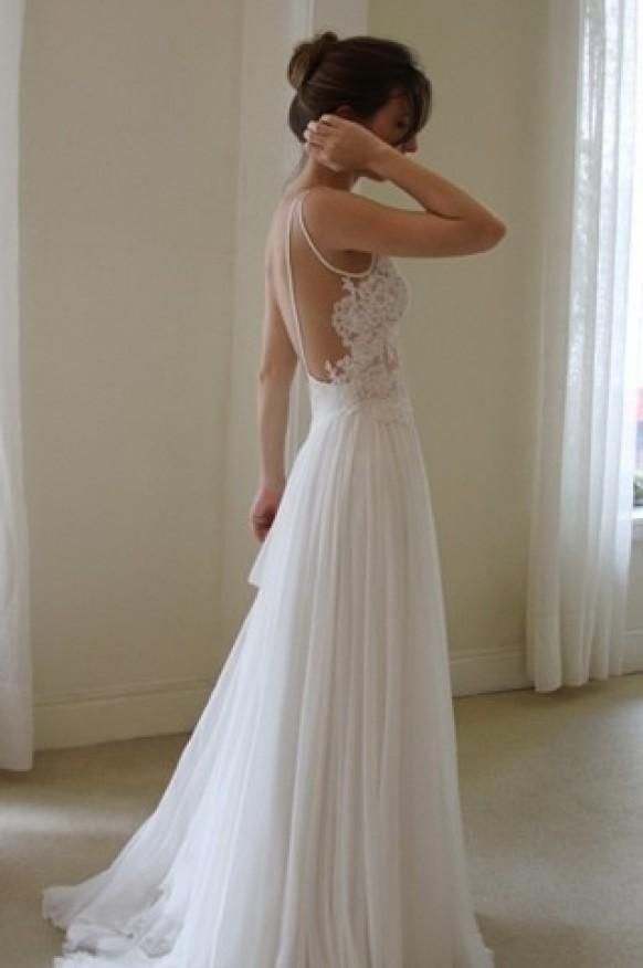 Simple & Chic Special Design Wedding Dresses ♥ Special Design Gown ...