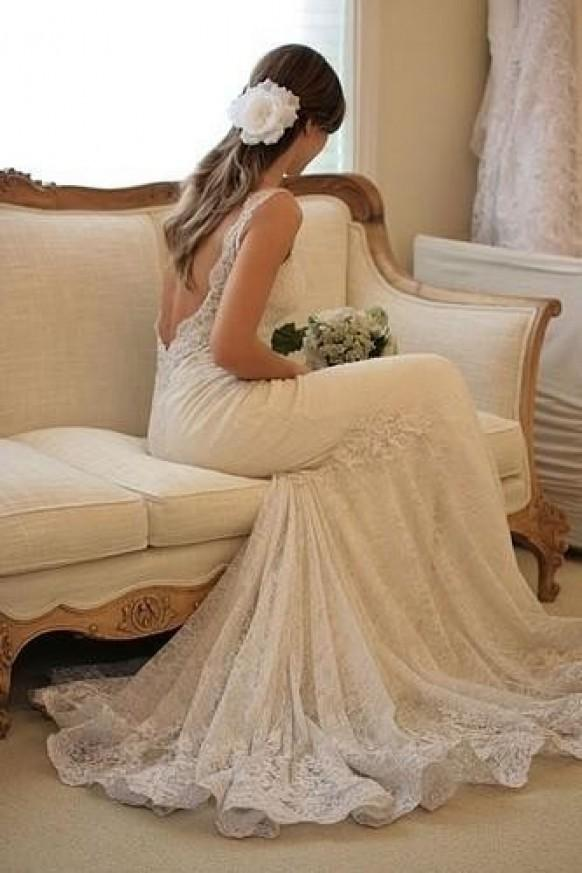 Chic Special Design Brautkleid 2013 Lace Wedding Dress 803059