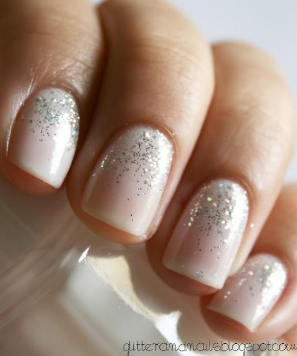 Sparkle and glitter wedding bridal nail designs and wedding nail sparkle and glitter wedding bridal nail designs and wedding nail art 806024 weddbook prinsesfo Image collections