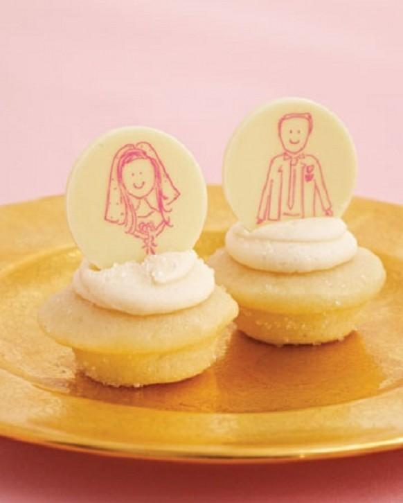 Unique Cupcake Wedding Ideas: Yummy & Creative Wedding Cupakes ♥ Unique Wedding Cupcakes